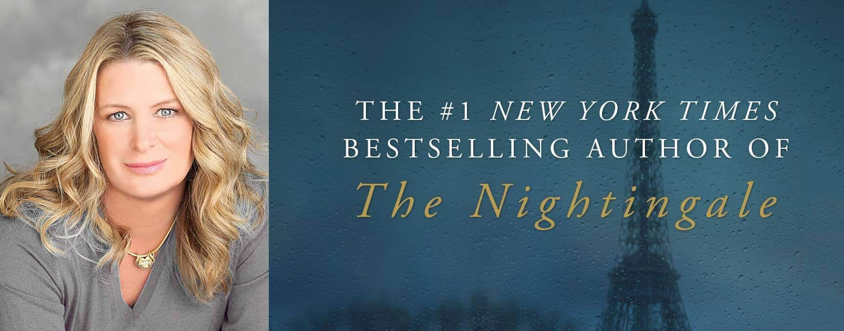 Kristin Hannah, #1 New York Times Bestselling Author of 'The Nightingale'