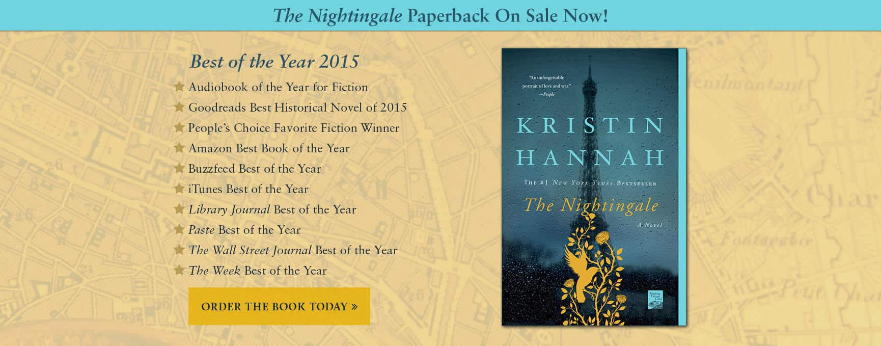 Best of the Year 2015 - Now in Paperback!